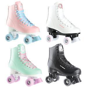 NILS Damen klassische Rollschuhe Roller Skates Inliner Inlineskates Retro Quad