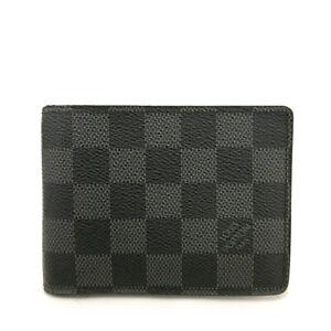 Louis Vuitton Damier Graphite Multiple Bifold Wallet /B0140