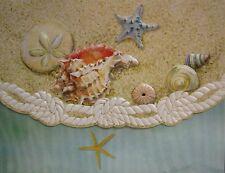 Carol Wilson Fine Arts Stationery 10 Blank Note Cards Envelopes Beach Sea Shells