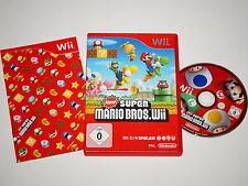 Nintendo Wii Spiel New Super Mario Bros #54060