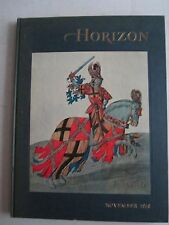 1958 HORIZON BOOK - VOLUME 1 NUMBER 2 - A MAGAZINE OF THE ARTS BOOK - TUB RRRR