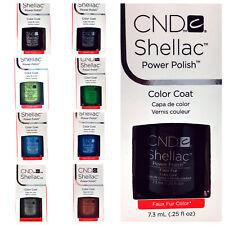 CND Shellac Color Coat UV LED Gel Nail Polish  7.3ml 0.25 fl oz