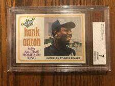 1974 Topps Hank Aaron NM