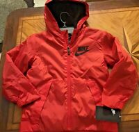New Boy's Red Nike  Coat size 5