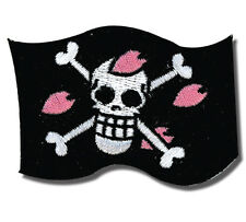 **License** One Piece SD Chopper's Flag Skull Logo Iron On Patch #4476