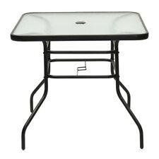 Unbranded Glass Square Patio & Garden Tables   eBay
