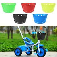 Bicycle Basket For Children Bike Pannier Front Handlebar Carrier Storage Plastic