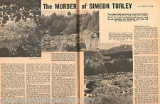 Simeon Turley of Taos, NM - Murder + Genealogy