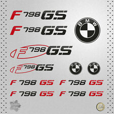 STICKER BMW F 798 GS MOTO RED PEGATINA VINYL DECAL AUTOCOLLANT AUFKLEBER ADESIVI