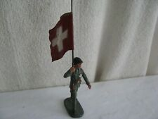 toy soldier-  Swiss with flag