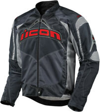 ICON Contra Textile Motorcycle Jacket (Slate) L (Large)