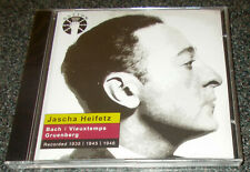 HEIFETZ-GRUENBERG VIOLIN CONCERTO/BACH/VIEUXTEMPS-VOCALION CD 2012-NEW & SEALED