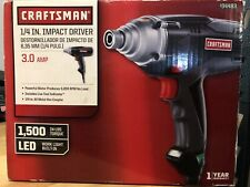 Craftsman 1/4 Inch Collet 3 Amp Corded Impact Driver