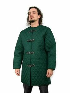 Gambeson Thick padded Jacket COSTUMES DRESS coat Armor