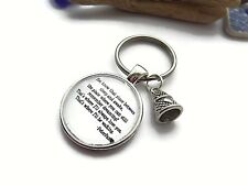 PETER PAN inspired I'LL BE WAITING 25mm Glass Dome KEYRING fan gift UK WENDY