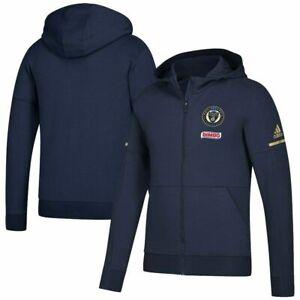 Adidas MLS Philadelphia Union Jacket Navy 6483A