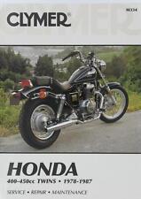 Honda CB400 CB450 CM400 CM450 (Select 1978-1986) Repair Manual Clymer M334