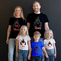 Disney Family Vacation custom t-shirts New Matching T-Shirts for families.