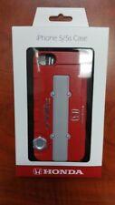 HONDA iPHONE 5/5S CASE: B-SERIES VTEC VALVE COVER (RED) Official Honda Licensed