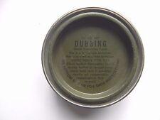 G. I. US Military WWII Surplus Shoe Dubbing Gas & Waterproof  Size 1 1/2oz Tin