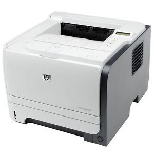 HP Laserdrucker P2055dn Duplex Netzwerkkarte nur 20.300 Seiten #579