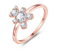 Anillo de oso 5.5 joyas de oro Rosa Cumpleaños Regalo de Amor verano joyas declaración