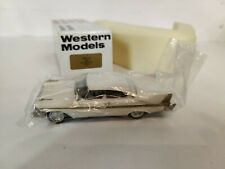 Western Models WMS 50 1958 Plymouth Fury Hardtop 1/43 Scale Made In England