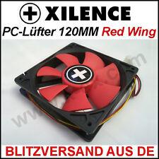[Xilence]120mm Red Wing Gehäuse-Lüfter/Fan →Rot 12cm Case PC Kühler XPF120