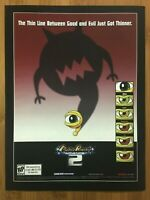 Monster Rancher Advance 2 GBA 2002 Vintage Poster Ad Art Print Official Promo