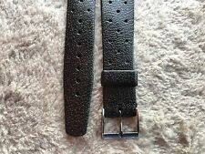 High Quality NOS Swiss Made Watch Strap Rubber  20 mm Vintage Diver Tropic Type