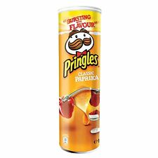 Made in Germany- PRINGLES Classic Paprika Chips -190 g- FREE Shipping