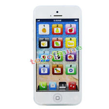 Yphone Kids Baby Toys ABC Mobile Phone Education Learning Puzzle Smart Touch LED
