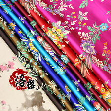 Chinese Ancient Silk Satin Brocade Cos Clothing Costume Dress Kimono Fabrics