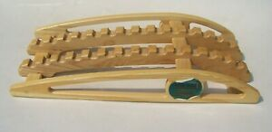 True Back Non-Powered Orthopedic Traction Device Rare Wood Wooden