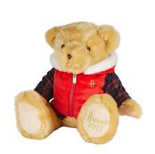 Harrods Bertie Bear Foot Dated 2017 Birthday Gift Souvenir Teddy 31cm Gift Tag