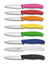 "VICTORINOX Swiss Made 3-1/4"" Blade Pairing Knife - Straight With Point - 8-Pack"
