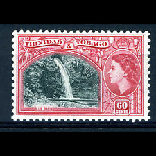 TRINIDAD & TOBAGO 1953-59 60c Blackish Green & Carmine. SG 276. MNH. (AB016)