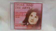 Rare Kitty Wells Those Were The Days New Uk Import 2001 Javelin cd4080