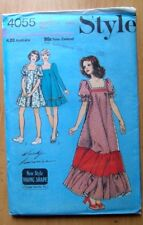 STYLE Sewing Pattern no. 4055 DRESS size 10 VINTAGE UNCUT