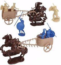 War at Troy Chariot Figure Set 2 Trojans Greek 60MM Toy Soldiers LOD