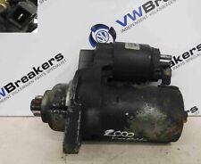 Volkswagen Beetle 1999-2006 2.0 8v Starter Motor Starting AQY 02A811023L