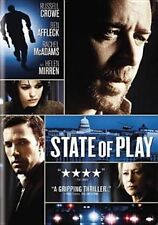 State of Play 0025195040075 With Ben Affleck DVD Region 1