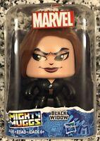 "Hasbro 2017 Marvel Mighty Muggs, ""Black Widow"" The Avengers Vinyl Figure, NEW"