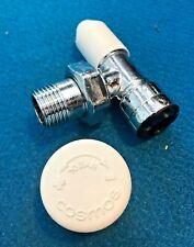 Drayton 15mm angolato TRV4 Copertura del corpo della valvola sostituzione Cromato Testa Sensore