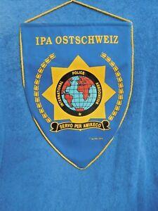 Ostschweiz - International Police Association  - Präsent - großer Wimpel