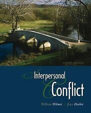 Interpersonal Conflict, Wilmot, William, Hocker, Joyce, Acceptable Book