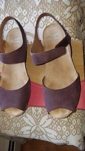 Dansko Plum Vera Nubuck Sandals 38