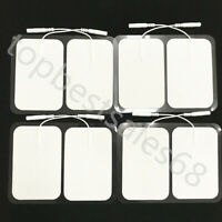 Large Tens Electrode Pads Adhesive Gel Patches for Muscle Stimulator Therapy