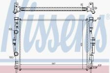 RADIATOR WATER COOLING ENGINE RADIATOR NISSENS NIS 63765A
