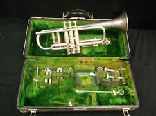Vintage CG Conn Bb/C Trumpet with Original Accessories and Extras